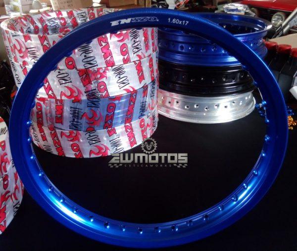 Aro Alumínio Azul 1.60 X 17 36 Furos – Enszo