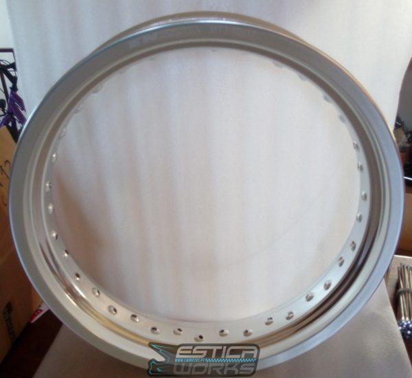 Aro Enszo Alumínio Cinza 3.50×17