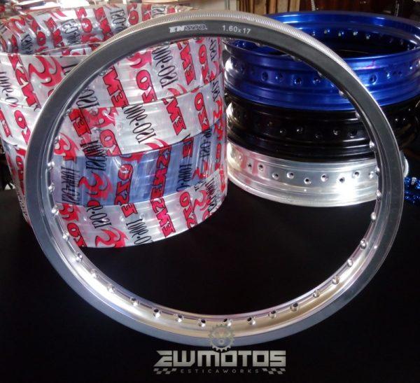 Aro Alumínio Cinza 1.60 X 17 36 Furos – Enszo