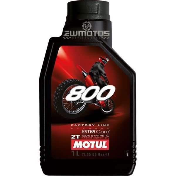 Motul 800 2T Factory Line Off Road -1L