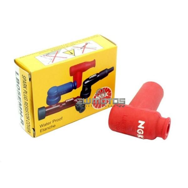 Cachimbo Vela Silicone NGK – LB05EMH-R (2)