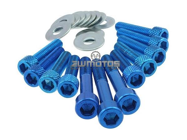Parafusos Carter Minarelli Azul – Alumínio