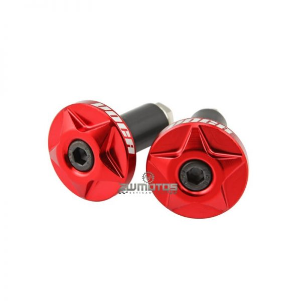 Pesos Guiador Voca CNC Alumínio Vermelho