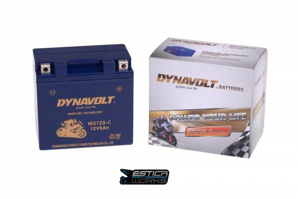 Bateria Nano-Gel Dynavolt 12 Volts MG7ZS-C