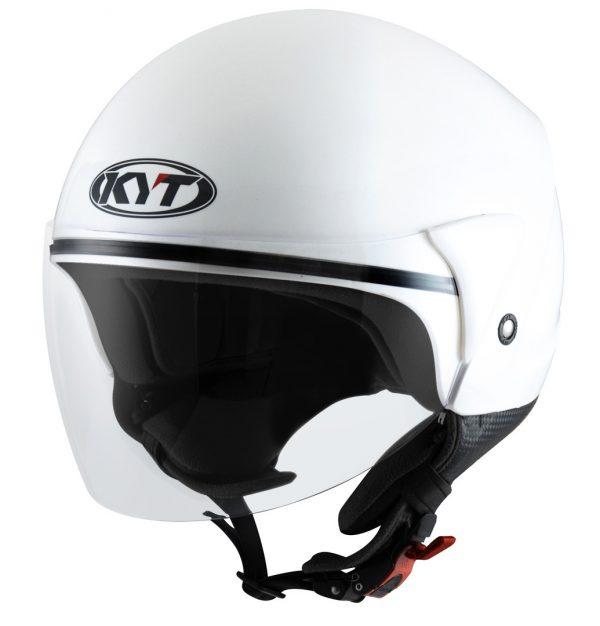 Capacete Kyt Cougar Plain White L (2)