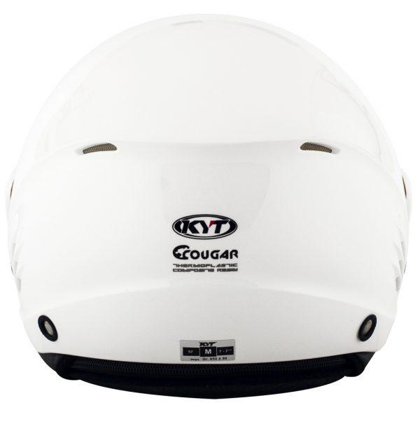 Capacete Kyt Cougar Plain White L (3)