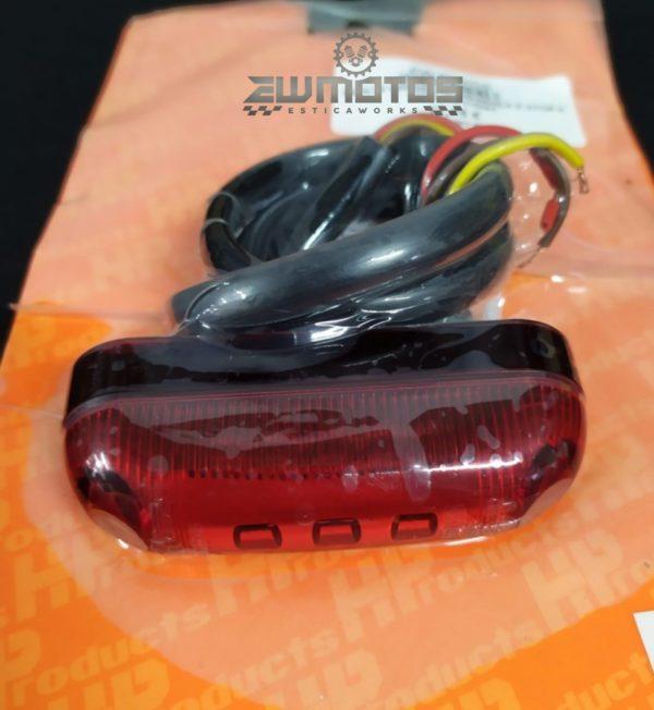 Farolim Universal Vermelho STOP + PRESENÇA – 5 LEDS12V – HP (1)