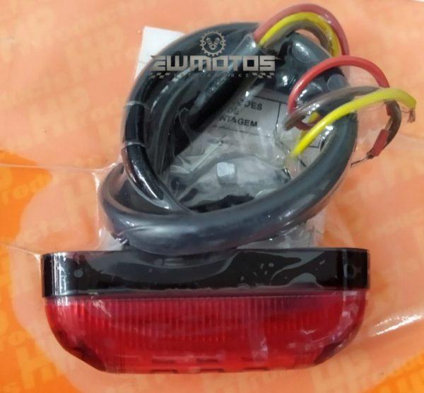 Farolim Universal Vermelho STOP + PRESENÇA – 5 LEDS12V – HP (2)
