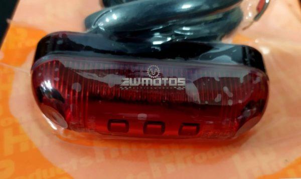 Farolim Universal Vermelho STOP + PRESENÇA – 5 LEDS12V – HP (3)