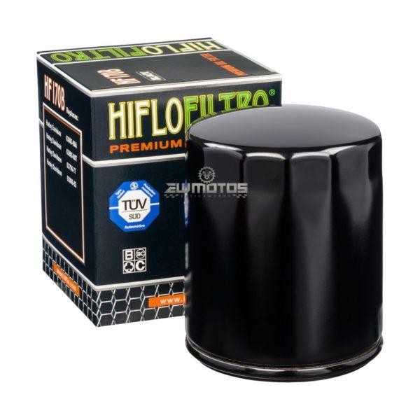Filtro de Óleo Hiflofiltro HF170B Preto