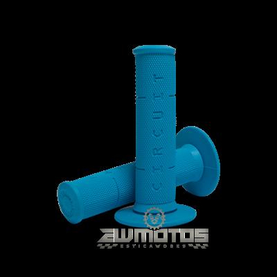 Punhos Circuit IV Azul Fluo