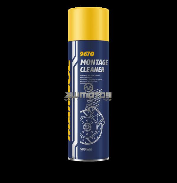 Spray MANNOL Montage Cleaner 500ml (Limpeza de Travões)