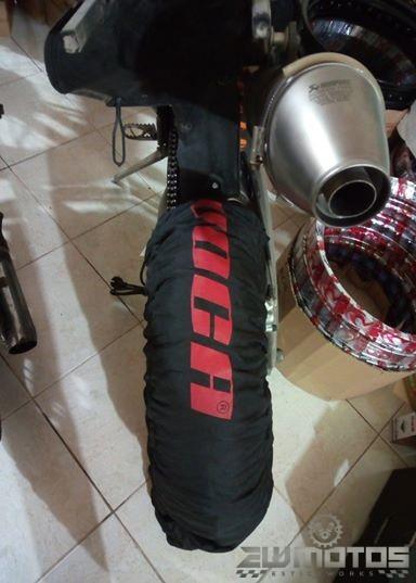Mantas aquecedoras para pneus Supermoto-Superbike (2)