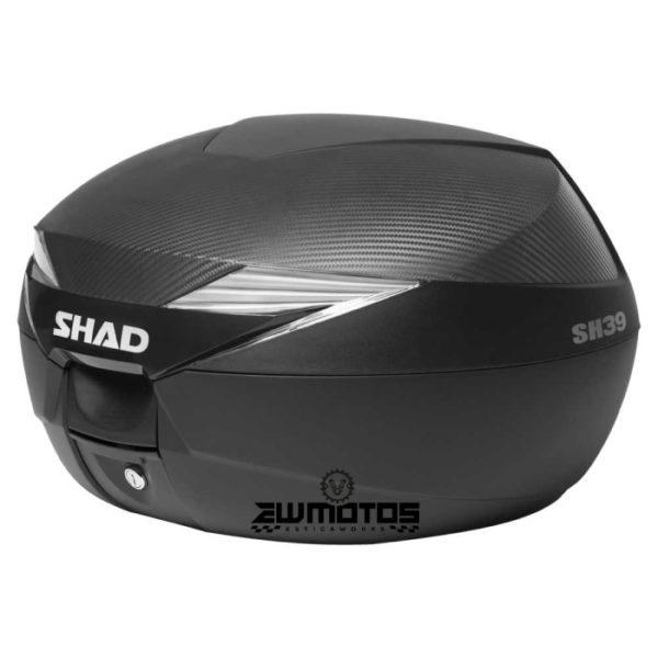 Top Case SHAD SH39 Carbono Preto