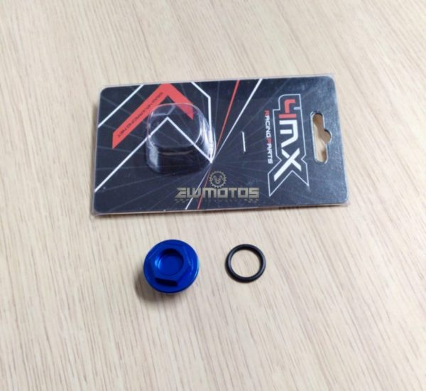 Bujon do Óleo 4MX M20 X 1.50 YamahaHonda Azul