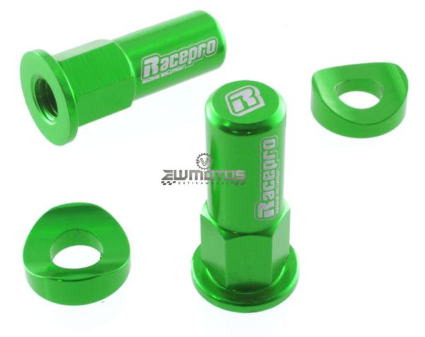 Porca de tranca-pneus verdes