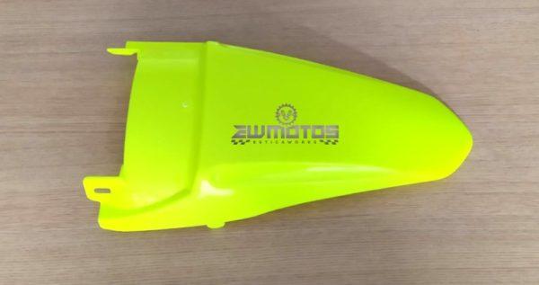 Guarda Lamas Trás Yamaha DTR 125 Cross HP Amarelo Fluo