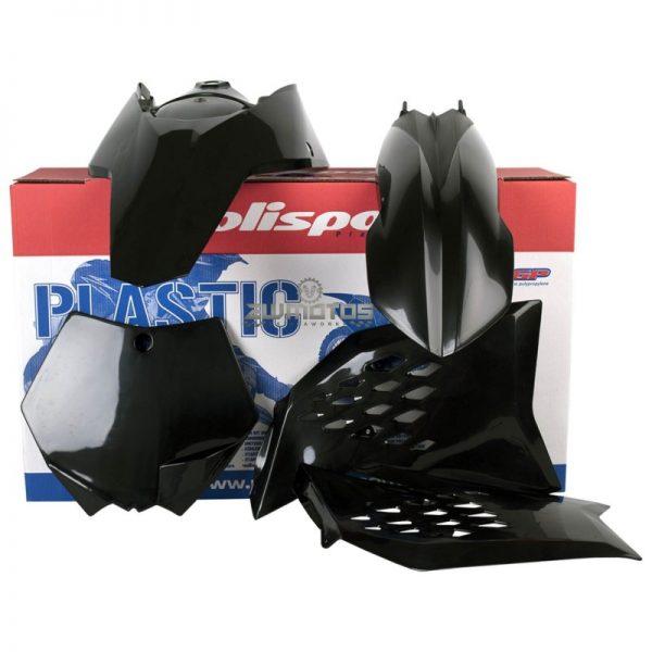 KTM SXSX-F – MX PLASTIC BLACK – 2007-10