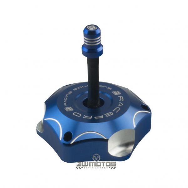 Tampão Depósito Racepro Azul – Kawasaki KX250-450F 06-20, KXF450R 08-14 Yamaha YZ85 02-20, YZ125-250 02-20, WR450F 03-15