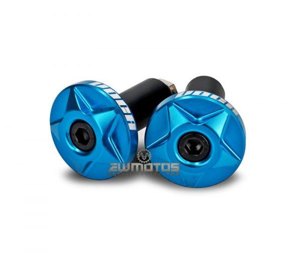 Pesos Guiador Voca CNC Alumínio Azul