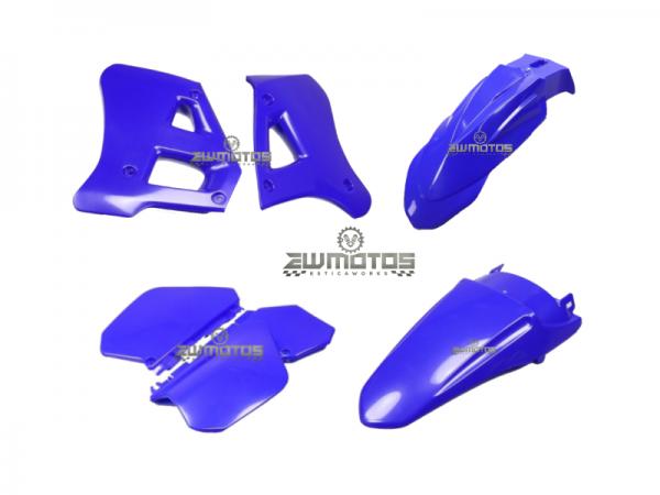 Kit Plásticos Yamaha DTR 125 Azul – HP