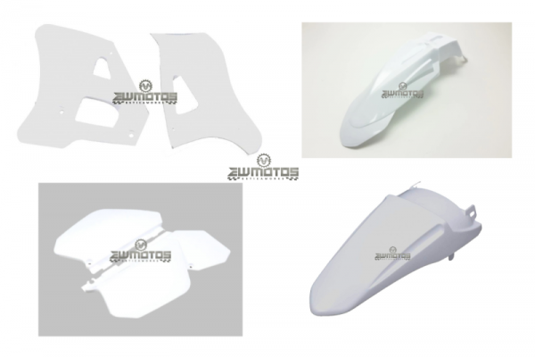 Kit Plásticos Branco Yamaha DTR 125