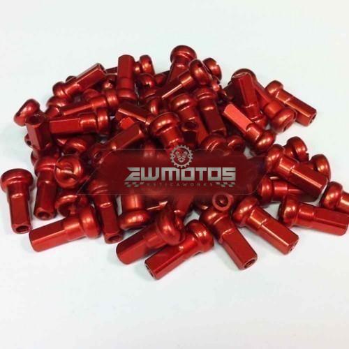 Cabeças Raios Alumínio 3.25 x 7.60mm 10G Vermelho – SM PRO