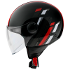 Capacete MT Street Scope D5 Gloss Red (2)
