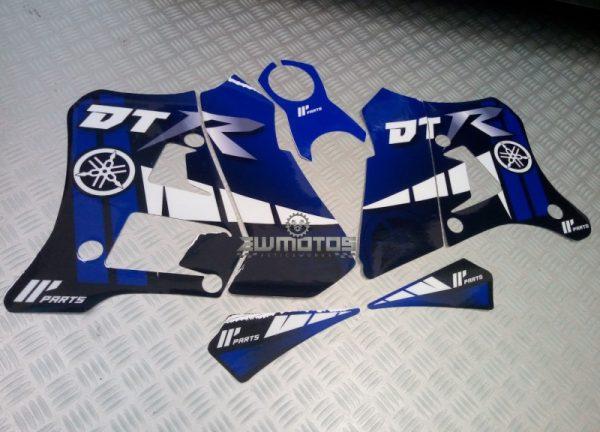 Kit Autocolantes Yamaha DTR 125 Azul