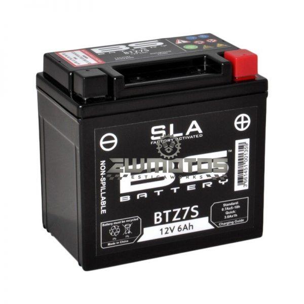 Bateria BS BTZ7S SLA (Prontas para Aplicação)