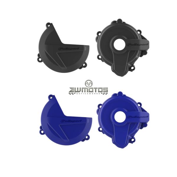 Kit Proteção Tampa Embraiagem e Ignição SHERCO SE250300 2014-2021
