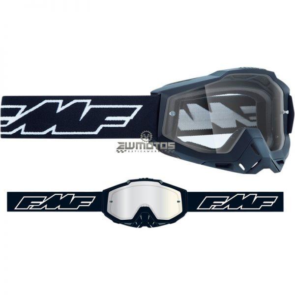 Óculos FMF Rocket Preto – Lente Transparente (1)