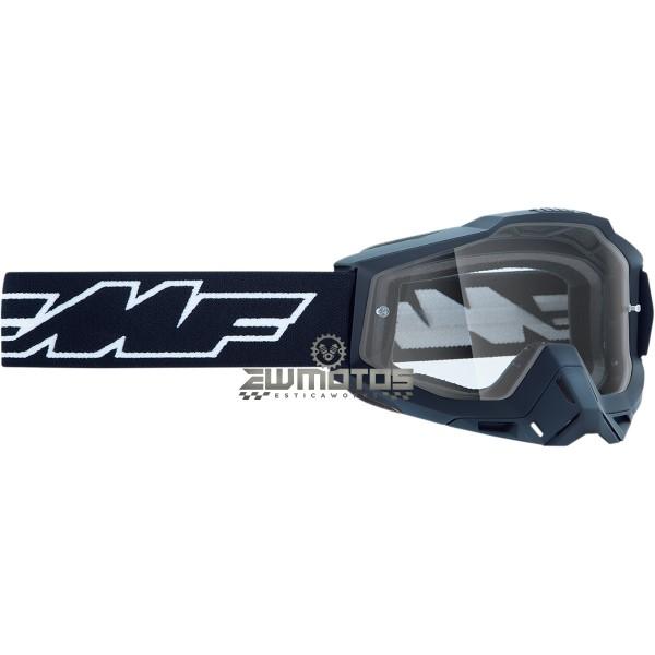 Óculos FMF Rocket Preto – Lente Transparente (2)