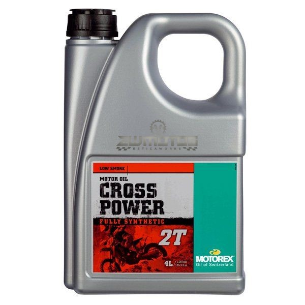 Óleo Mistura Motorex Cross Power 2T – 4L