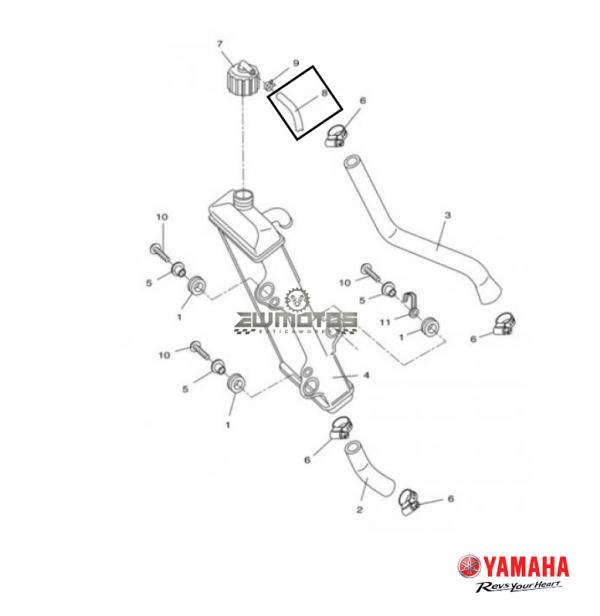 Tubo Respiro Yamaha DT50X,R