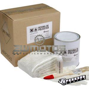 kit reparação fibra de vidro voca style