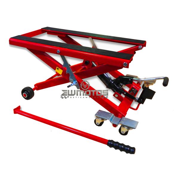 Cavalete Hidráulico Tesoura c Rodas ATV MOTO 4 (1)