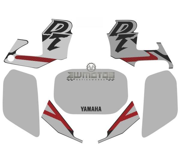 Kit Autocolantes Yamaha DTR 125 Cinza
